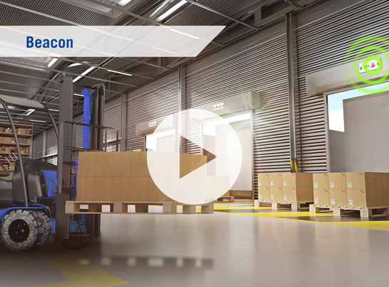 Beacon, Innovation, Rhenus Innovation, Rhenus, Warehousing Solutions, Warehouse, Logistics, Technology, Technologie