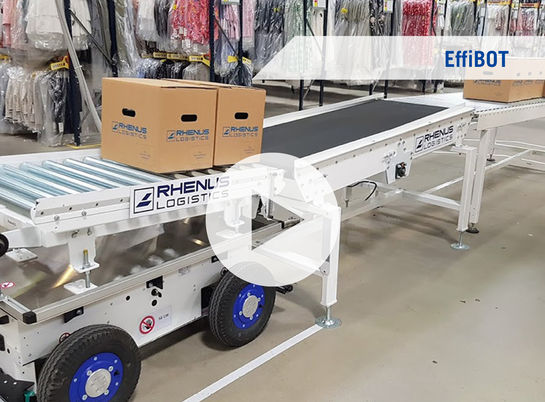 EfiiBot, Effidence, Innovation, Rhenus Innovation, Rhenus, Warehousing, Logistics, Roboter